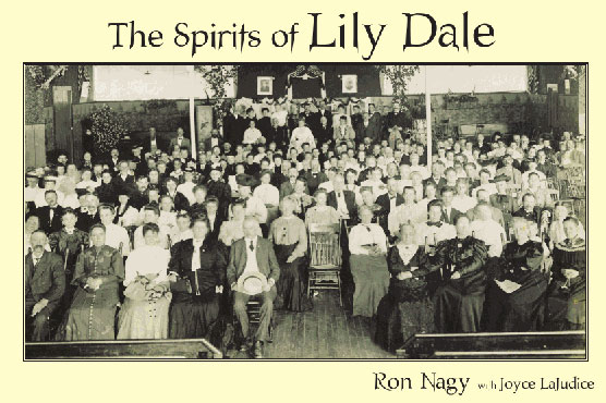 Possible cover art for The Spirits of Lily Dale, a new book by Ron Nagy