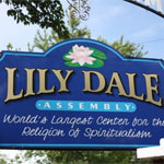lily dale assembly sign