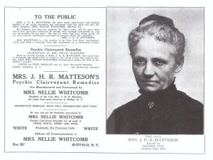 Matteson advertisment