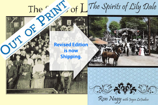 Revised Edition The Spirits of Lily Dale, new cover image.